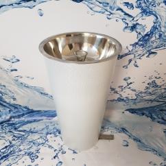 Фонтанчик питьевой ФПП-2 с педальным пуском, диаметр чаши 260 мм